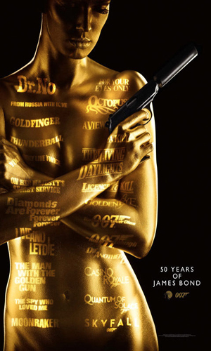50 Years of James Bond 007 (Poster Set)