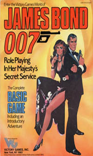 James Bond 007 Role Playing