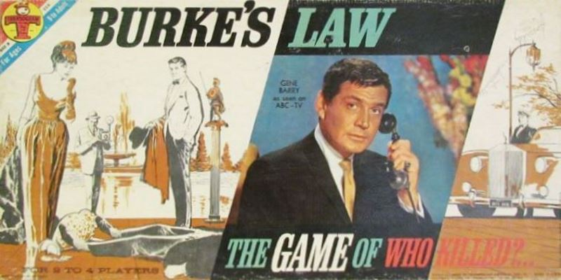 Burke's Law - The Game Of Who Killed?