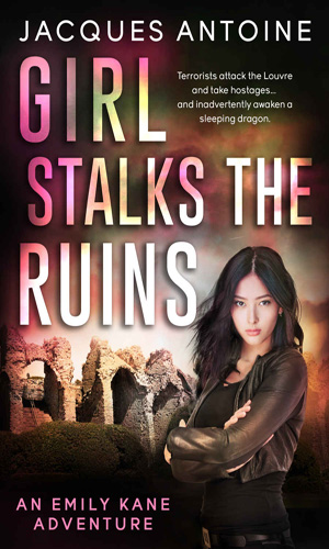 Girl Stalks The Ruins