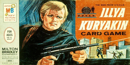 Illya Kuryakin Card Game