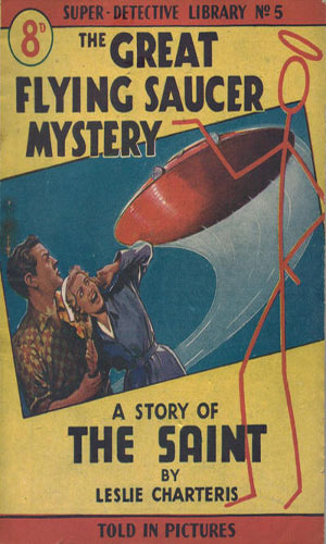 The Great Flying Saucer Mystery