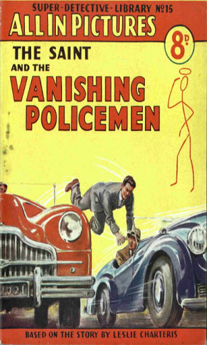 The Saint and the Vanishing Policemen