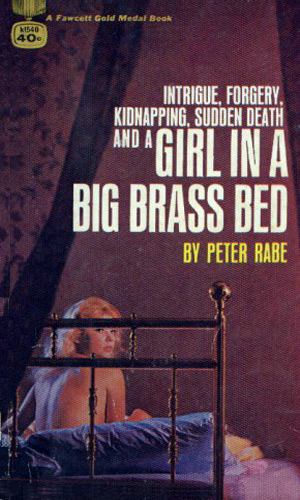 The Girl In A Big Brass Bed