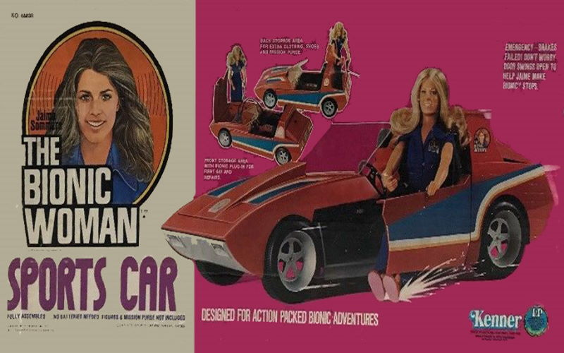 The Bionic Woman Sports Car