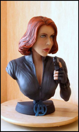 Black Widow / Scarlett Johansson Bust