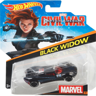 Character Car V2 - Black Widow