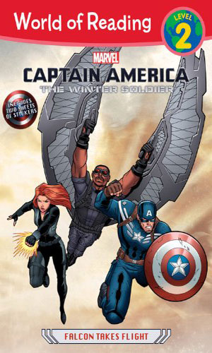Captain America: The Winter Soldier - Falcon Takes Flight