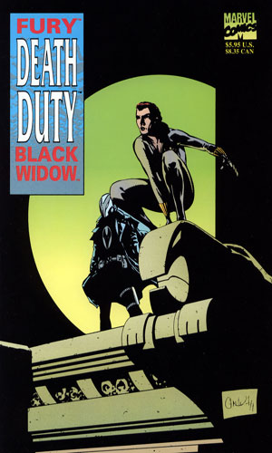Fury - Black Widow - Death Duty