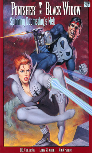 Punisher - Black Widow - Spinning Doomsday's Web