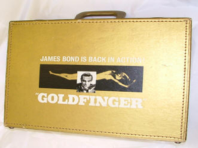 The Goldfinger Promotional Briefcase