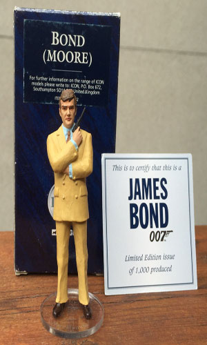 Bond (Moore) Collectible Icon Figure