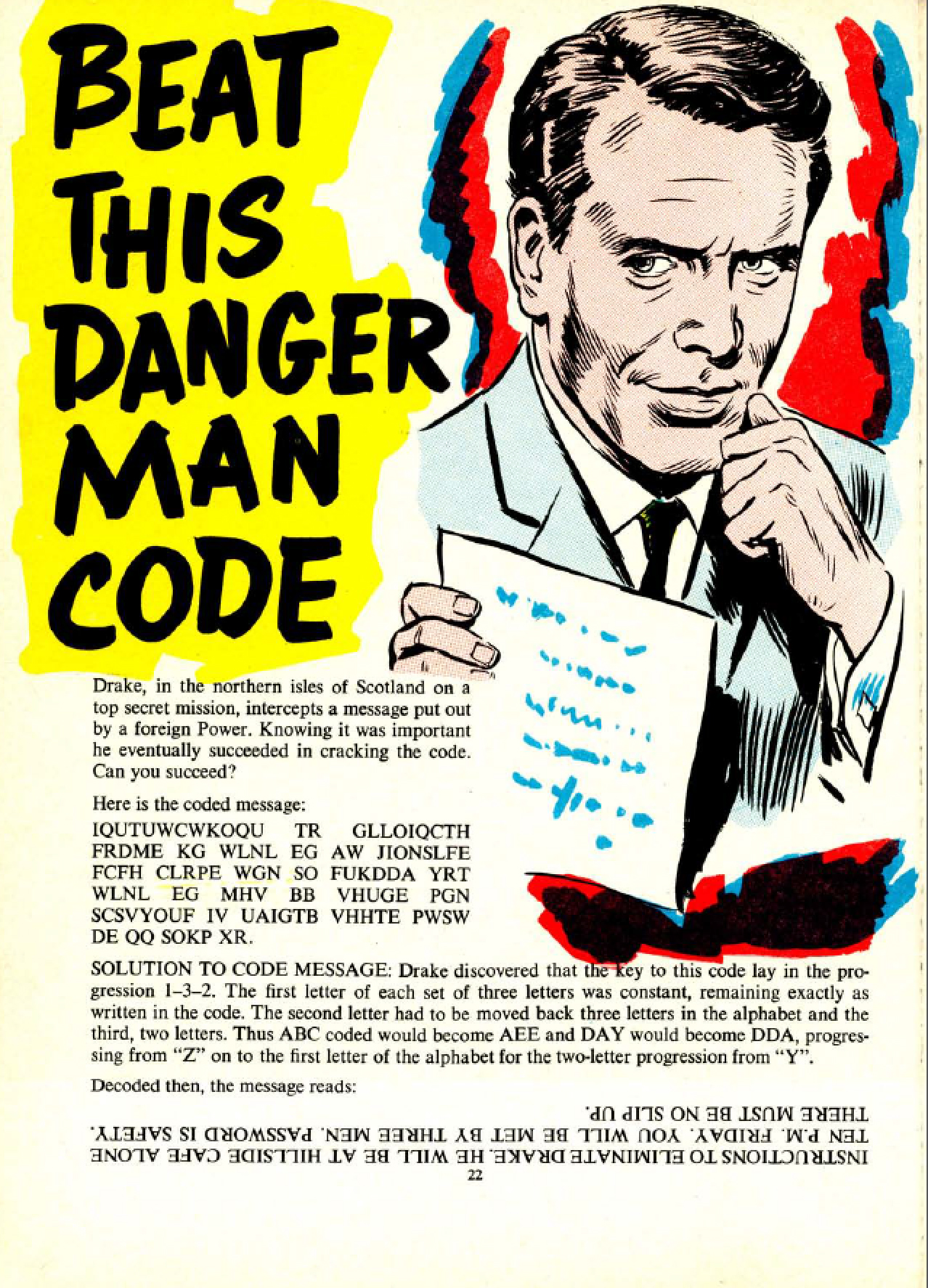 Beat This Danger Man Code