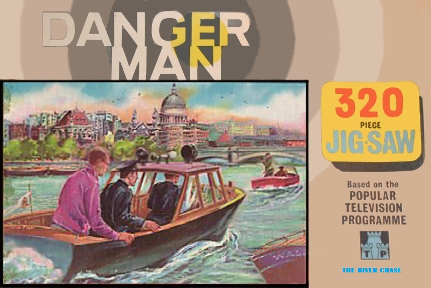 The Danger Man Jigsaws