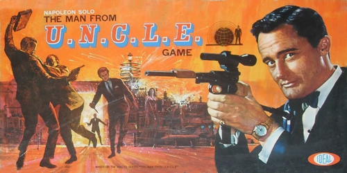 Napoleon Solo The Man From U.N.C.L.E. Game