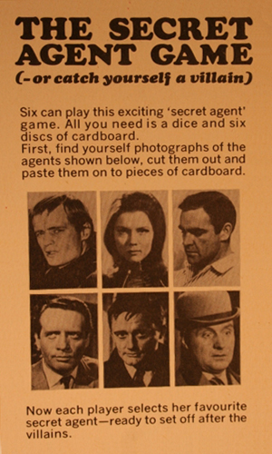 The Secret Agent Game