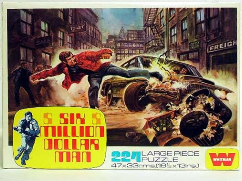 Six Million Dollar Man - Large Piece Puzzles