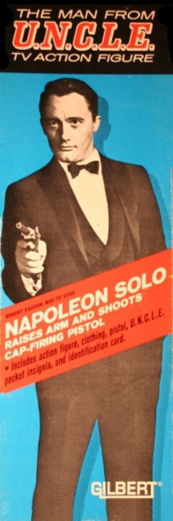 The Man From U.N.C.L.E. TV Action Figure - Napoleon Solo