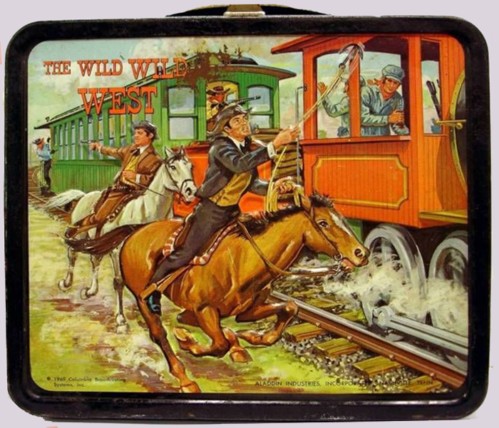 The Wild Wild West Lunch Box