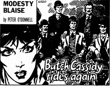 Butch Cassidy Rides Again